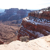 Shafer Trail Road into Canyonlands NP
