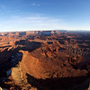 Fish eye view from Dead Horse Point