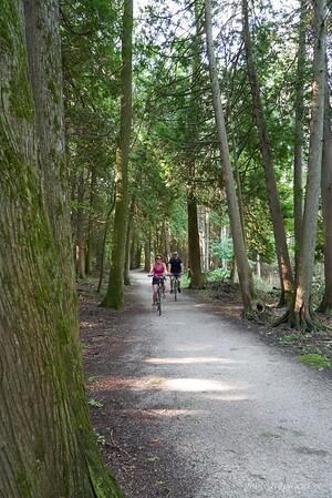 Biking in Peninsula State Park