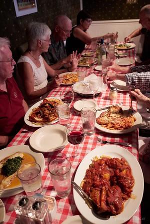 Portions were huge at Mona LIsa Restaurant