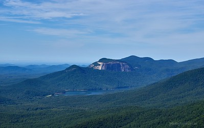 Table Rock from Caeser's Head SP, SC