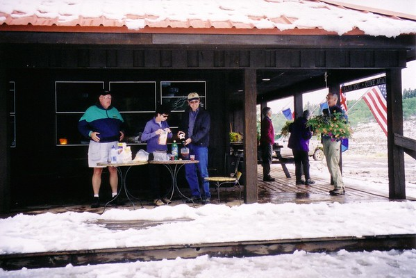 2 buck chuck sangria, Montrose, Colorado 2003