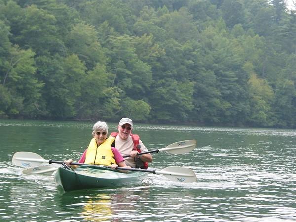 Kayaking Santeelah