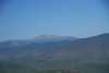 Looking west from South Baldface, you can see Mount Washington several ranges over.