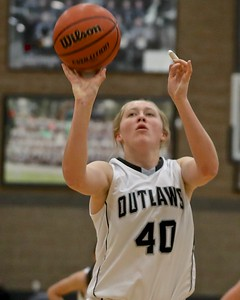 Amanda Smith is High scorer for Outlaws vs Crook County