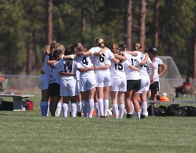 Outlaw Ladies Soccer vs Henley 9-12-14
