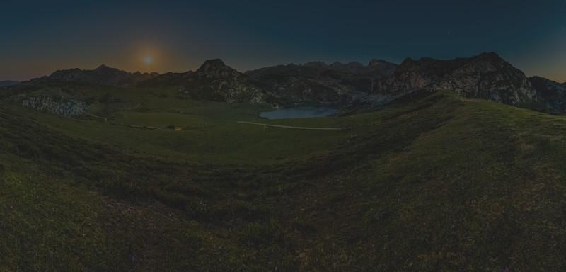 Full Moon over Ercina Lake