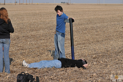 Rocketry doesn't always end well. Photo by Alan M. Carroll