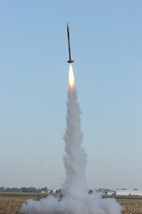 Beautiful liftoff of the second class rocket.  Photo by Greg Smith