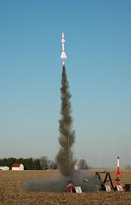 Beautiful liftoff of a NCR Lance Beta.  Photo by Alan Carroll