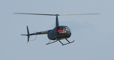 Helicopter rides were offered throughout the airshow.  Photo by Greg Smith
