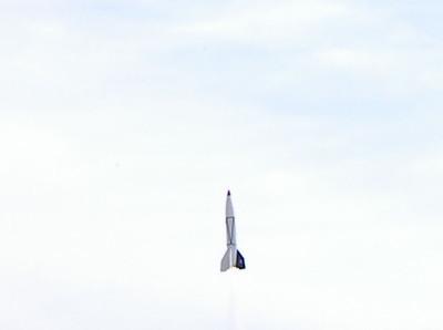 Greg Smith's V-2. photo by Christopher Brian Deem