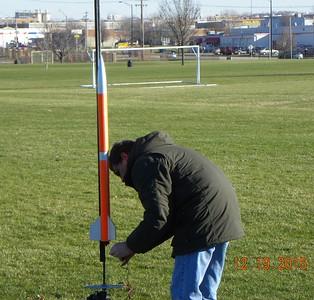 Mark Joseph installs a new igniter