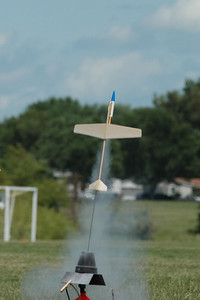 Boost glider launch. Photo by Alan M. Carroll