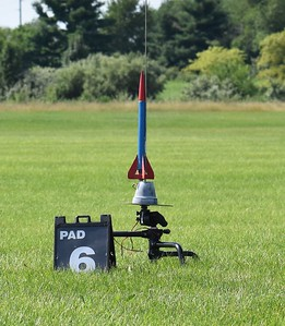 Chris Deem's Moonbeam II, as a demonstration, I flew it on a B6-2, then B6-4, and last, a B6-6 to show the effect of different time delays.