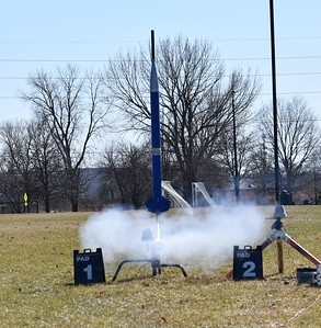 All of the rockets flew on G77-7G single use motors.
