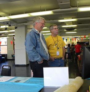 Steve Dramstad and Jonathon Sivier. photo by Christopher Brian Deem