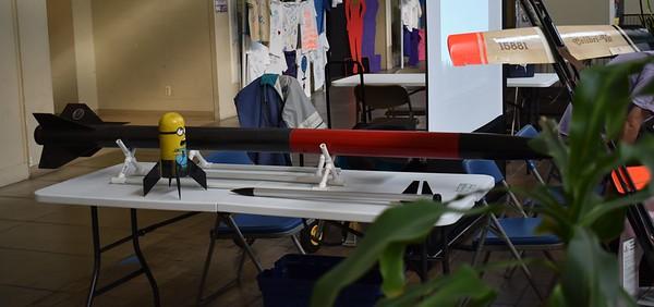 Steve Dramstad's rockets.