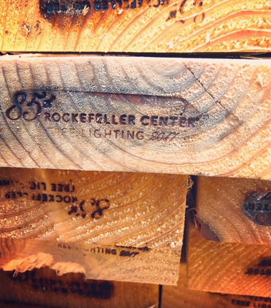 Rockefeller Center Christmas tree is milled into lumber and sent to Habitat projects -- this year to Newburgh.
