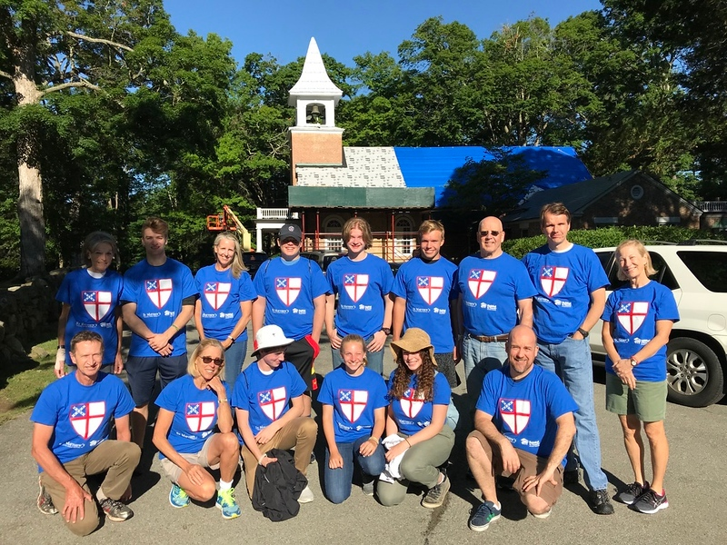 Teens and adults go to Newburgh for a mission trip.