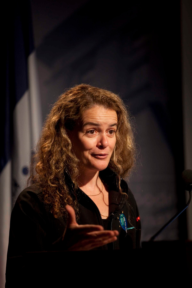 Living and Working in Space: An Astronaut's Perspective<br /> <br /> Speaker(s): Julie Payette