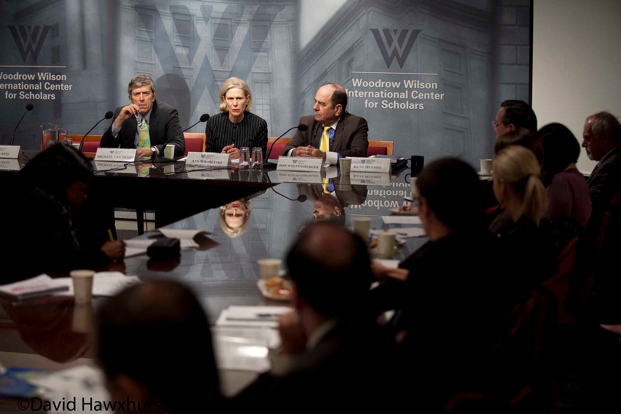 How Washington Works: Perspectives on Congress, the Executive Branch, the Private Sector and the Media<br /> <br /> Speaker(s): Ann Wrobleski, Michael Van Dusen, Shaun Donnelly, Peter Reid