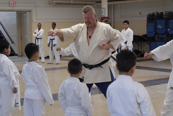 2011 St. Frances Xavier Cabrini Karate Classes