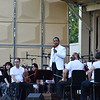 Sameer Patel with the NJSO