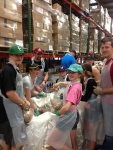 Food Bank Volunteers 2016