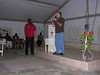Pastor Robert teaching at Al Fasher AMIS Church
