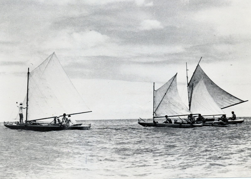 Kamehameha Canoe Sailing Regatta