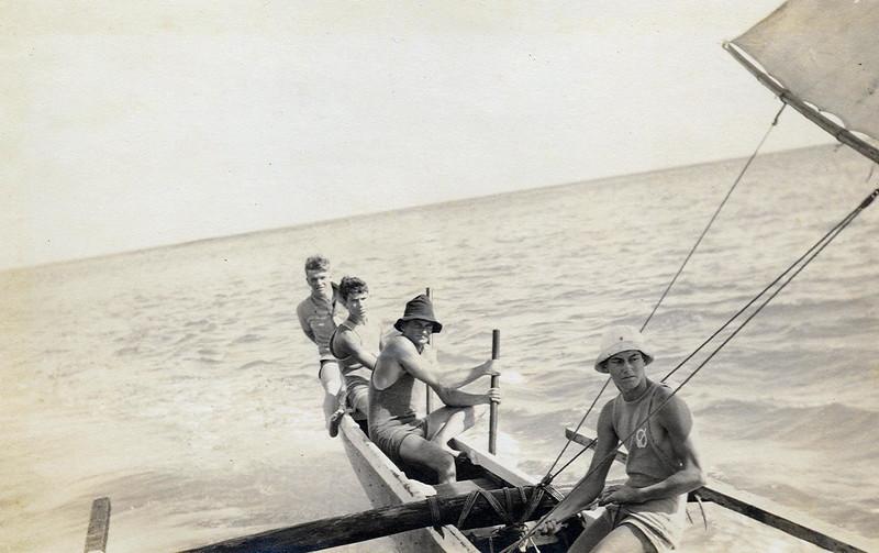 Canoe Sailing Waikiki