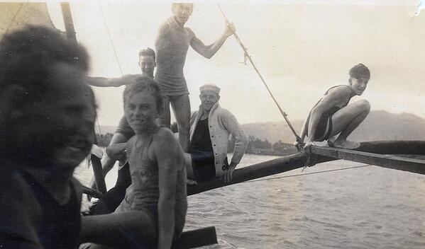 Canoe Sailing at WEaikiki