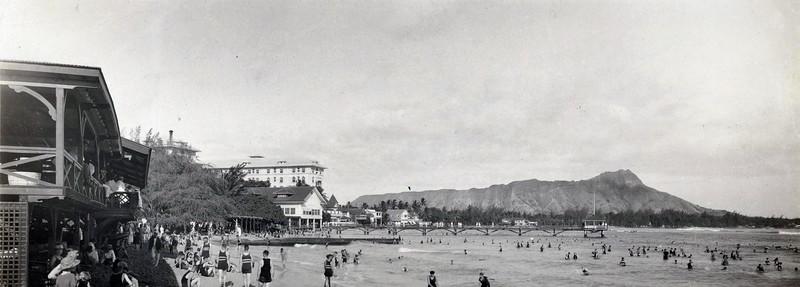 Waikiki Beach 1920-30