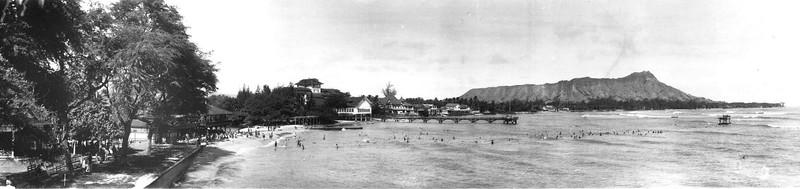 Waikiki, Seaside & Moana Hotels 1900-1920
