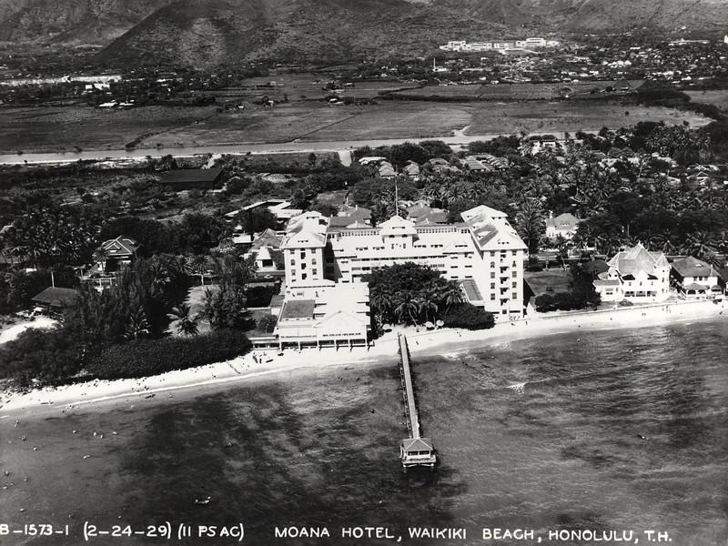 Moana Hotel 1929