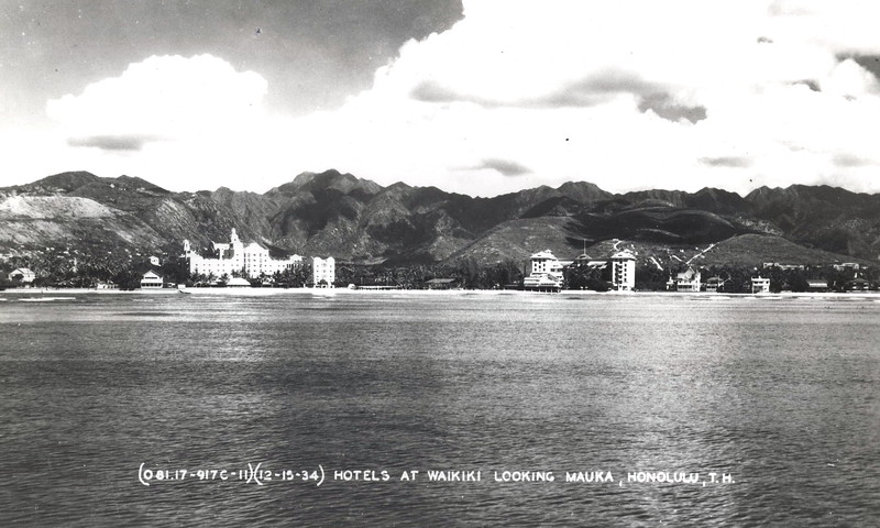 Waikiki 12-15-1934