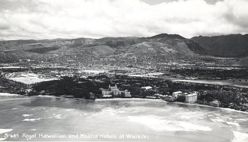 Waikiki Beach 1937-1941