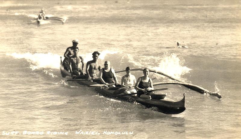 Canoe Rides Waikiki