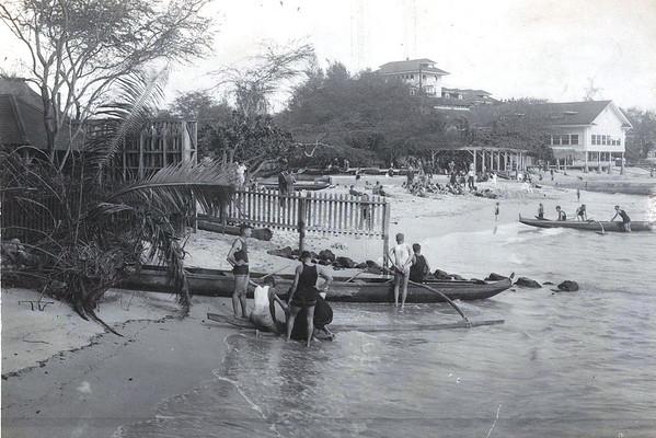 Waikiki Beach c 1908