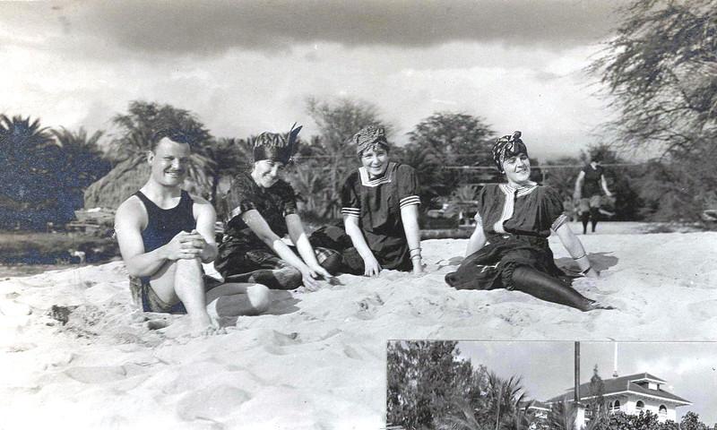Outrigger Canoe Club Beach 1914