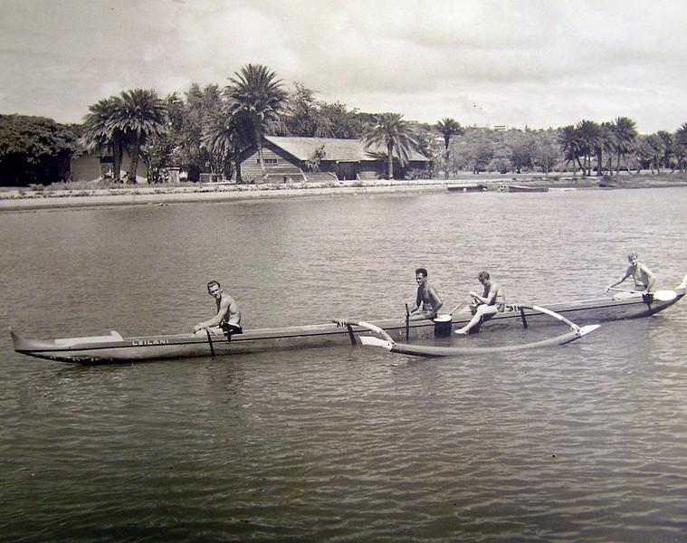 Outrigger Canoe Leilani 1914