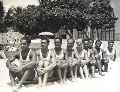OCC Waikiki Beach Patrol May 11, 1935