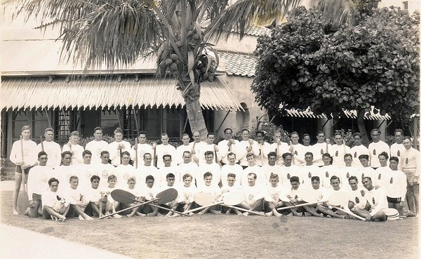 1933 Canoe Racing Teams
