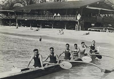 OCC Canoe Racing 1920