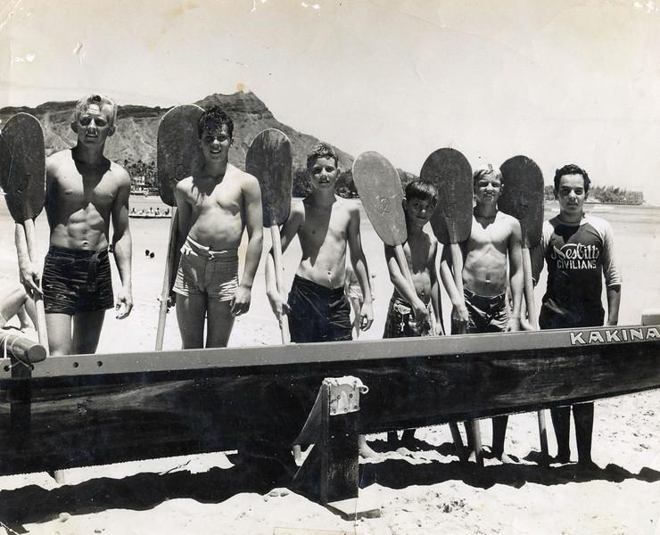 Canoe Racing 1940