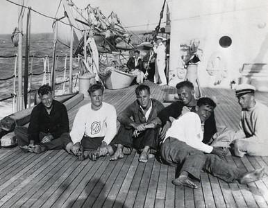 Canoe Racing 1933