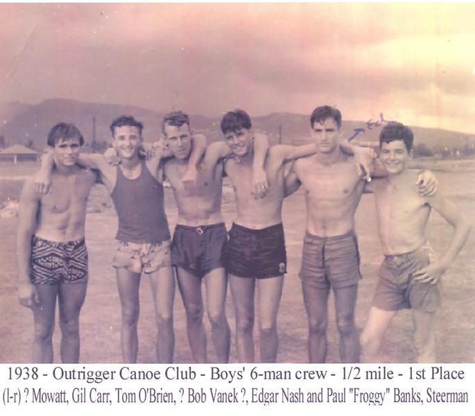 1938 Canoe Racing