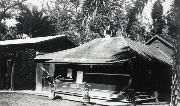 Outrigger Club Commissary, c1916-1918