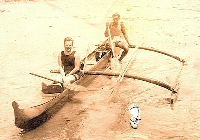 Jack London and Duke Kahanamoku